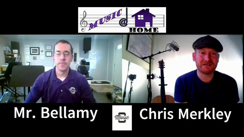 Music at Home Featuring Chris Merkley