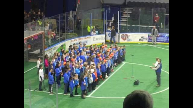 Silver Knights Performance -- Star Spangled Banner...