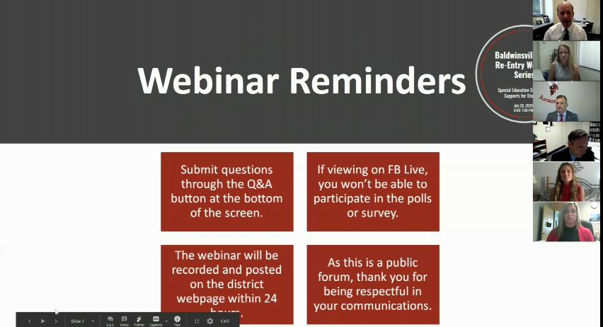 Re-opening Webinar Series: Special Education Servi...