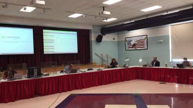 Special Board of Education Meeting on July 21, 202...