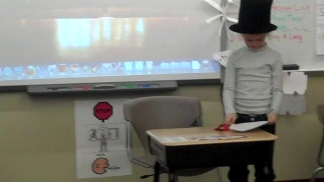 Mrs. Prior's Holiday Readers' Theatre - 1