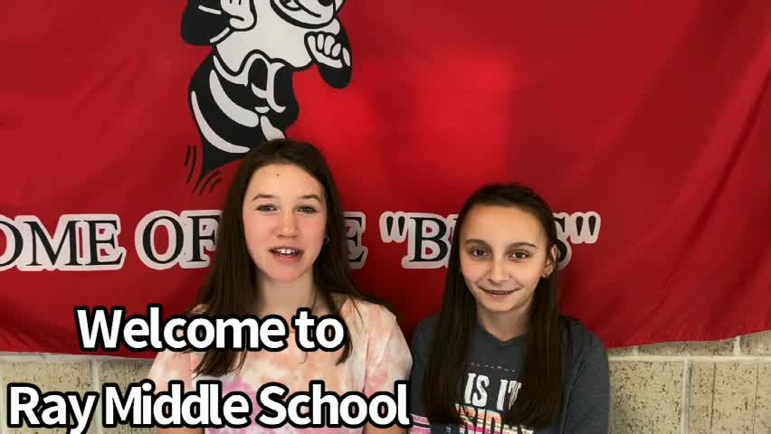 What's happening at Ray Middle School? Students gi...