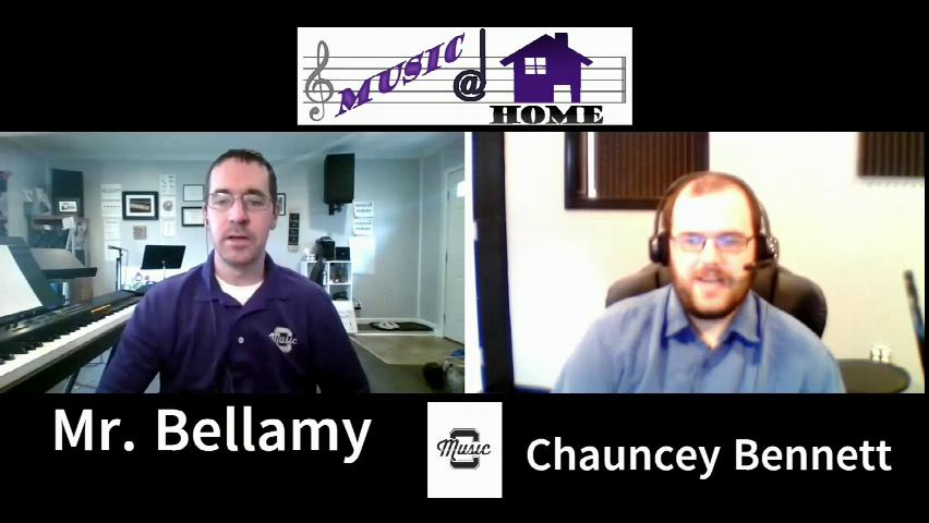 Music at Home Featuring Chauncey Bennet