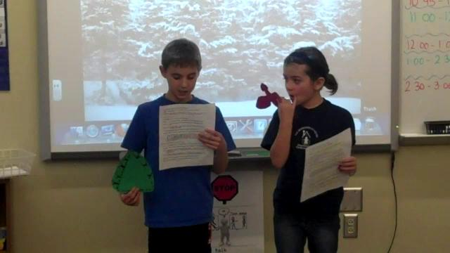 Mrs. Prior's Holiday Readers' Theatre - 2