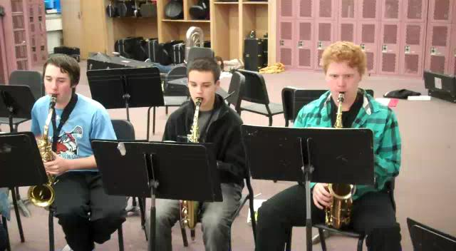 Westhill High School Saxophone Group