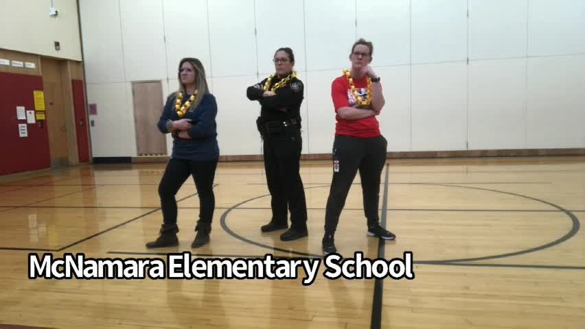 McNamara Elementary staff members prep students fo...