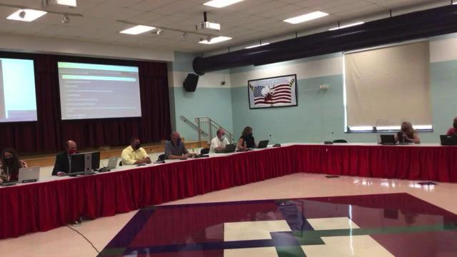 Board of Education Special Meeting on Aug. 16, 202...